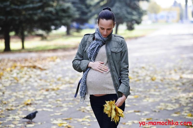 Полезность пеших прогулок при беременности