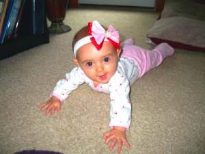 Развитие ребенка от 5 до 6 месяцев
