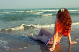 Отдых на море во время беременности