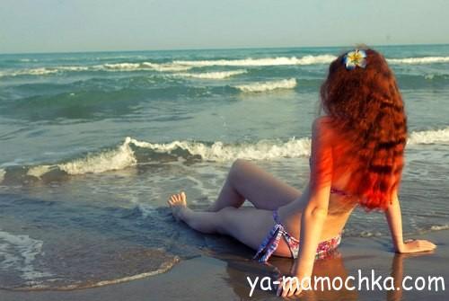 Секс во время отдыха на море
