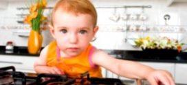 Что делать если ребёнок получил ожоги открытым огнём?