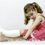 Переломы у ребёнка – краткая инструкция