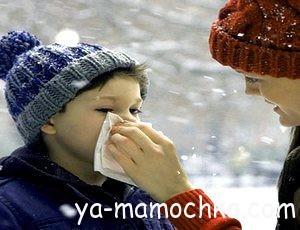 Лекарства от насморка (ринита) детям