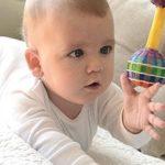 Развивающие игры с ребёнком до года