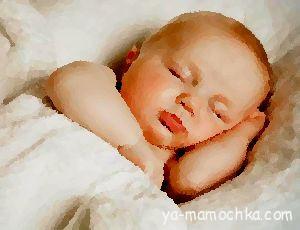 Как уложить грудного ребенка спать