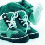 Зимняя обувь для деток до 1 года: тепло и красиво